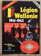 Publicité / Bon De Commande Livre LEGION WALLONIE 1941 - 1945 - Publicidad