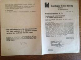 """III. Reich, """" Schrift Deutsches Rotes Kreuz """", Bestimmung Für Prisoner Of War, - Storia Postale"""