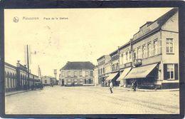 MOUSCRON - Place De La Station. (Feldpost) - Mouscron - Möskrön