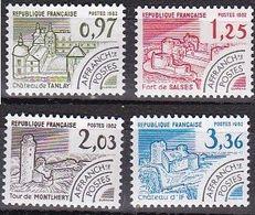 France Préoblitérés De 1982 YT 174 à 177 Neufs - 1964-1988