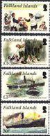 Falkland 1111/14 Naufrage De L'Oravia - Barche