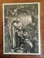 """III. Reich, Propaganda  Karte, """" Erinnerungen An Stalingrad """" Haus Der Deutschen Kunst, - Weltkrieg 1939-45"""