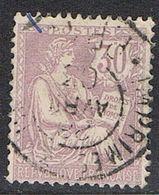 FRANCE : N° 128 Oblitéré (Type Mouchon) - PRIX FIXE : 30 % De La Cote - - 1900-02 Mouchon