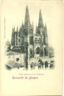Burgos - Recuerdo De - Vista General De La Catedral - Precurseur - Burgos