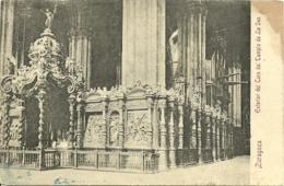 Zaragoza - Exterior Del Coro Del Templo De La Seo - Precurseur - Zaragoza