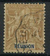 Reunion (1892) N 40 (o) - Reunion Island (1852-1975)