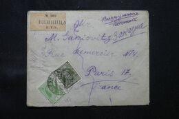 U.R.S.S. - Enveloppe En Recommandé En 1929 Pour La France - L 68361 - Briefe U. Dokumente