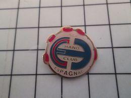 420 Pins Pin's / Rare & Belle Qualité THEME SPORTS / HAND CLUB ESPAGNAC BALLON HAND-BALL - Handball