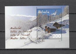 2013  BLOC  N° 1490  OBLITERE   CATALOGUE ZUMSTEIN - Oblitérés