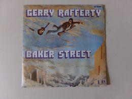 """45 T Gerry Rafferty """" Baker Street + Big Change In The Weather """" - Vinyl Records"""