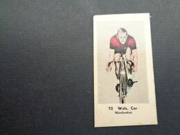 Chromo ( 1682 ) ( 5 X 2,5 Cm )  Cycliste  Coureur  Wielrenner  Renner - Cycling