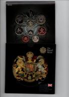 ENGELAND BU SET 2008 COIN COLLECTION 9 PCS. - Non Classificati