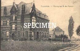 Woning Van M. Den Notaris - Ruiselede - Ruiselede
