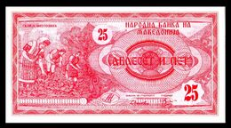 MACEDONIA 2 - 25 Denari 1992  UNC  ! - Macedonia