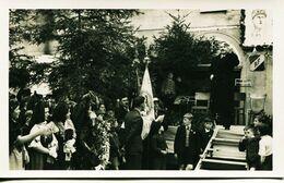 14315  - SCHERWEILER  : FETE DE LA LIBERATION DE L'ALSACE (25 Mars 1945) - LE SOUS PREFET DURANT SON ALLOCUTION  C PHOTO - Altri Comuni