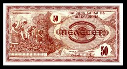 MACEDONIA 3 - 50 Denari 1992  UNC  ! - Macedonia