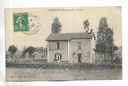 52 - AVRECOURT ( Haute-Marne ) - La Gare. Carte Pas Courante - Frankreich