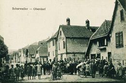 14309 -   SCHERWEILER  -  OBERDORF    I. Elsass -  LES ENFANTS DANS LA RUE  BELLE ANIMATION  67 - Altri Comuni