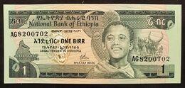 Etiopia Ethiopia  1 Birr Unc Lotto.3330 - Ethiopië