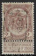 Brussel 1898 Nr. 169A - Precancels