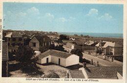 SION-SUR-L'OCEAN SION ET LA COTE A VOL D'OISEAU - Sonstige Gemeinden