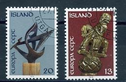 Islande - Island - Iceland 1974 Y&T N°442 à 443 - Michel N°489 à 490 (o) - EUROPA - Used Stamps