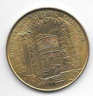 *gemeente Penning Gent St Baarsabdij 1980 - Gemeindemünzmarken