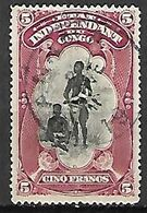 CONGO  Belge   -   1894 .  Y&T  N° 28  Oblitéré. - 1894-1923 Mols: Oblitérés