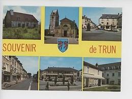 TRUN - Souvenir De Trun, Hospice, église, Maison Natale Charlotte Corday, Rue Vimoutiers, Hotel Ville Place De Gaulle - Trun