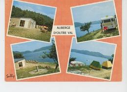 AUBERGE D'OUTRE VAL - Vues Multiples - Camping Caravaning En Bordure Du Lac Du Barrage De BORT LES ORGUES - Otros Municipios