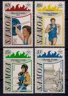 SAMOA 1992 - OLYMPICS BARCELONA '92 - YVERT Nº 1747-750 - MICHEL 738-741 - SCOTT 811-814 - Verano 1992: Barcelona