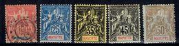 Mayotte YT N° 15 Oblitéré, N° 17/20 Neufs *. B/TB. A Saisir! - Mayotte (1892-2011)