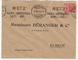 ESC 40c Semeuse OMEC  Metz (Moselle)1931 - 1921-1960: Modern Tijdperk