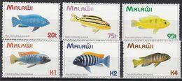Malawi 1994 - Mi.Nr. 634 - 639 - Postfrisch MNH - Tiere Animals Fische Fishes - Fishes