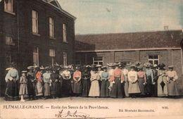 Flemalle Grande - Ecole Des Soeurs De La Providence (carte Légèrement Coupée) - Flémalle