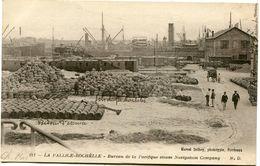 LA PALLICE ROCHELLE  -  BUREAU De La PACIFIQUE STEAM NAVIGATION COMPANY - - La Rochelle