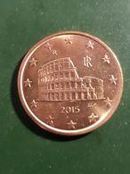 ITALIA 5 EUROCENT 2015 - Italy