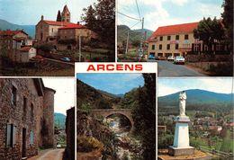 ARCENS (07) - CPM 1987- Multi Vues - Restaurant - Automobiles 504 - R5 - GS - Éd. CELLARD (õ‿õ) ♥ - Autres Communes