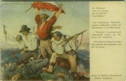 CZECH REPUBLIC - WWI - B. BARTOS - CZECHOSLOVAKS VOLUNTEERS FIGHTING AGAINST AUSTRIANS AND GERMANS  ( BG9814) - Tschechische Republik