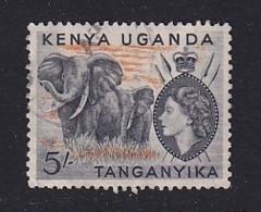 K.U.T.: 1954/59   QE II - Pictorial    SG178    5/-     Used - Kenya, Uganda & Tanganyika