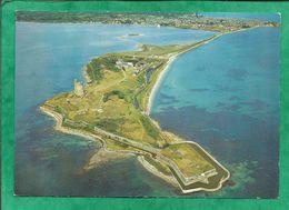 Saint-Vaast-La-Hougue (50) Presqu'île De La Hougue Fortifiée Par Vauban Vue Générale Aérienne Centre Ostréicole 2scans - Saint Vaast La Hougue