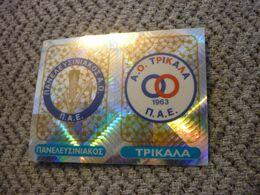Panelefsiniakos Trikala Team Badge Greece Greek Panini Sticker Football Podosfairo 2002 No 427 AB - Panini