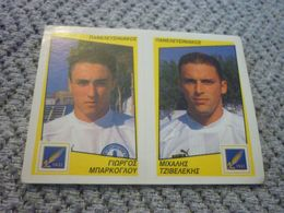 Panelefsiniakos Mparkoglou Tzivelekis Greece Greek Panini Sticker Football Podosfairo 98 1998 No 467 AB - Panini
