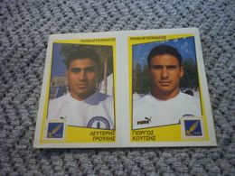 Panelefsiniakos Troulis Koutsis Greece Greek Panini Sticker Football Podosfairo 98 1998 No 464 AB - Panini