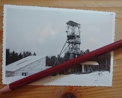 Mine Mines Pierre-Plantées Langogne Lozère Chevalement 1955 - Langogne