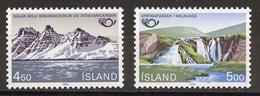 Islande - Island - Iceland 1983 Y&T N°549 à 550 - Michel N°596 à 597 *** - Norden 1983 - Ungebraucht