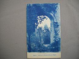 2583  Carte Postale   GISORS    Intérieur Du DONJON Et   Vue De L'EGLISE    27  Eure - Gisors