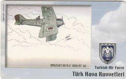 Turkey, TR-C-110, Turkish Air Force, Airplane, Breguet XIX B-2 1929-37, 2 Scans. - Türkei