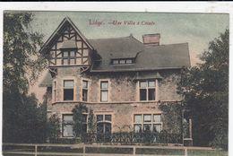 LIEGE / UNE VILLA A COINTE  1910 - Luik