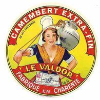Etiqu.CAMEMB. LE VALDOR 16-D - Fromage